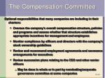 the compensation committee1