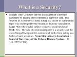 what is a security1