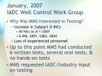 january 2007 iadc well control work group1