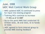 june 2008 iadc well control work group