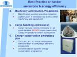 best practice on tanker emissions energy efficiency1