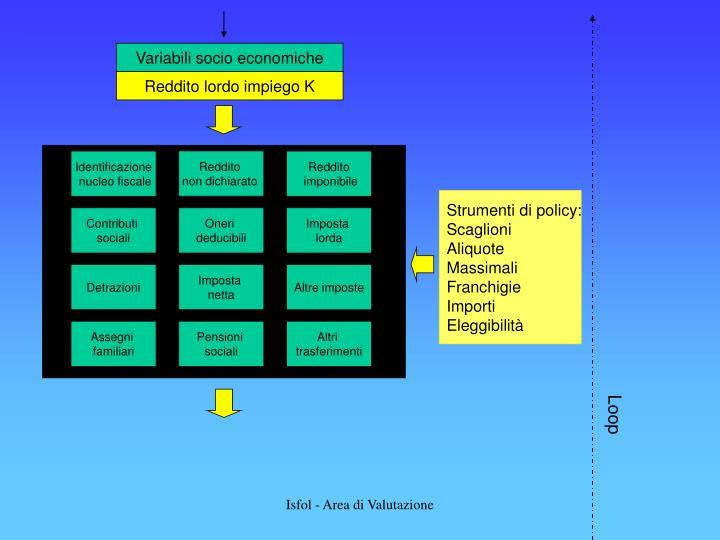 Variabili socio economiche