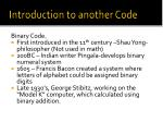introduction to another code