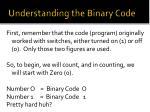 understanding the binary code