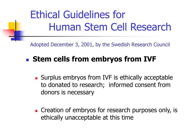 Ethical Guidelines for