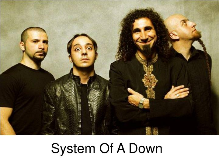 system of a down n.