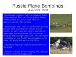 russia plane bombings august 24 2004