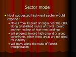 sector model1