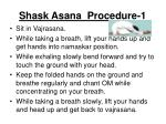 shask asana procedure 1