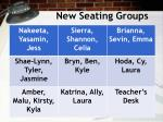 new seating groups