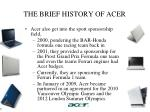 the brief history of acer3