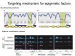 targeting mechanism for epigenetic factors