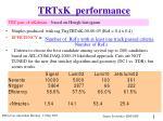 trtxk performance