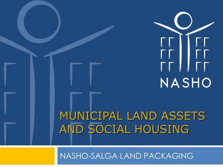 municipal land assets and social housing n.