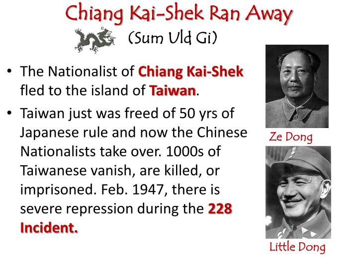 Chiang Kai-