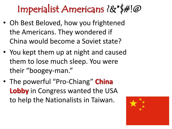 Imperialist Americans