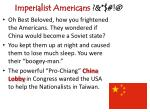 imperialist americans @