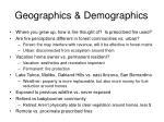 geographics demographics