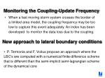 monitoring the coupling update frequency