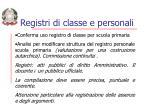 registri di classe e personali