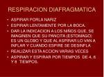 respiracion diafragmatica