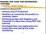 making the case for enterprise systems compaq computers 2