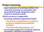 project invoicing