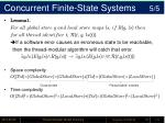 concurrent finite state systems 5 5