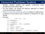 concurrent pushdown systems 1 6