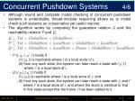 concurrent pushdown systems 4 6