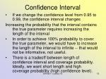 confidence interval1