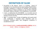 definition of slum