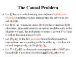 the causal problem
