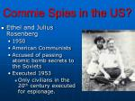 commie spies in the us