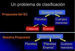 un problema de clasificaci n