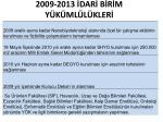 2009 2013 dar b r m y k ml l kler2