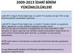 2009 2013 dar b r m y k ml l kler3