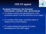 cee cc appeal