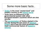 some more basic facts