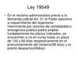 ley 195491