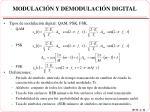 modulaci n y demodulaci n digital
