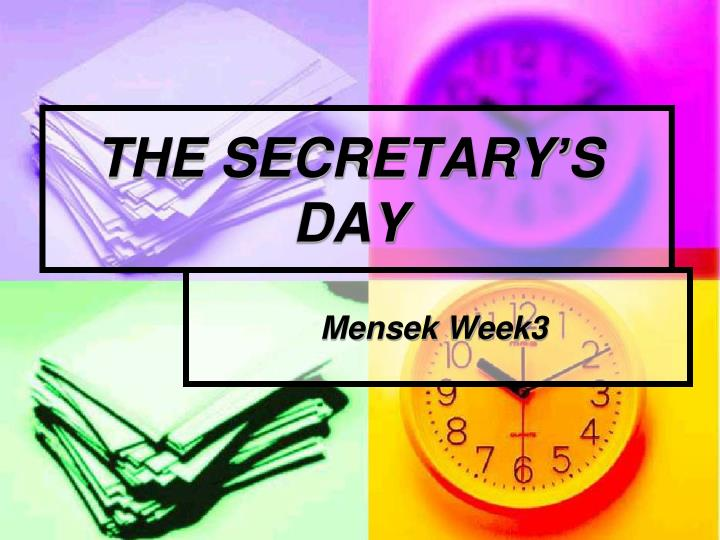 the secretary s day n.