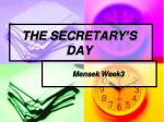 the secretary s day