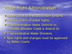 water right administration1