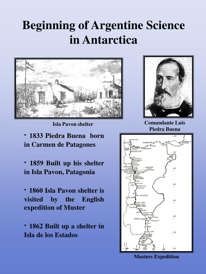 beginning of argentine science in antarctica n.
