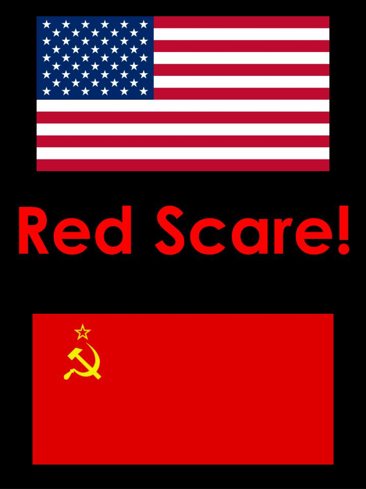 red scare n.