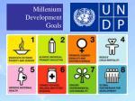mil l enium development goals