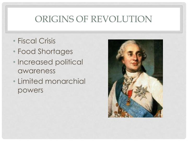 Origins of revolution