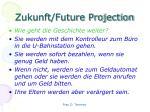 zukunft future projection