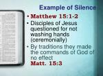 example of silence3